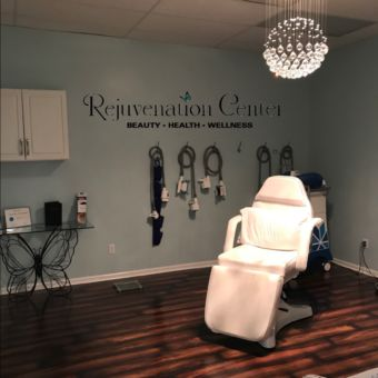 Image of a treatment room at Rejuvenation Center